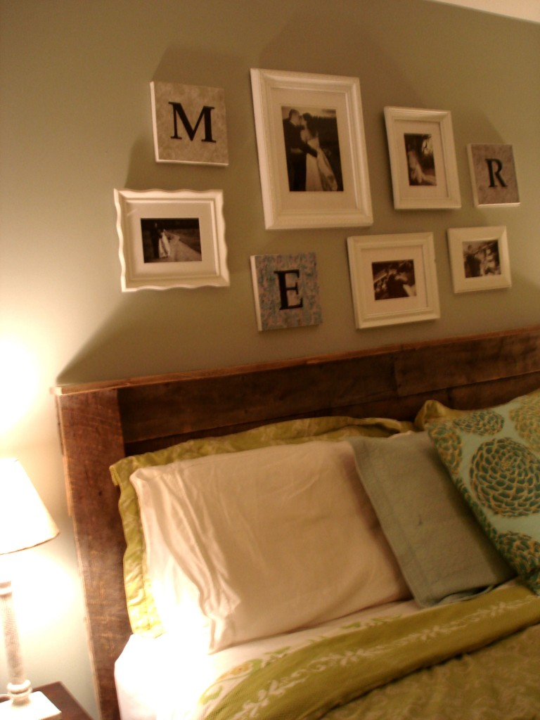 Pallet upcycling pallet headboard for Pallet wood headboard